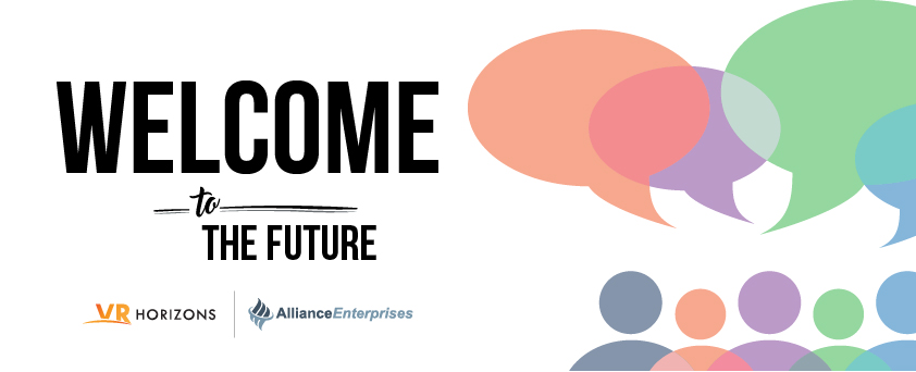 Welcome to the Future banner graphic