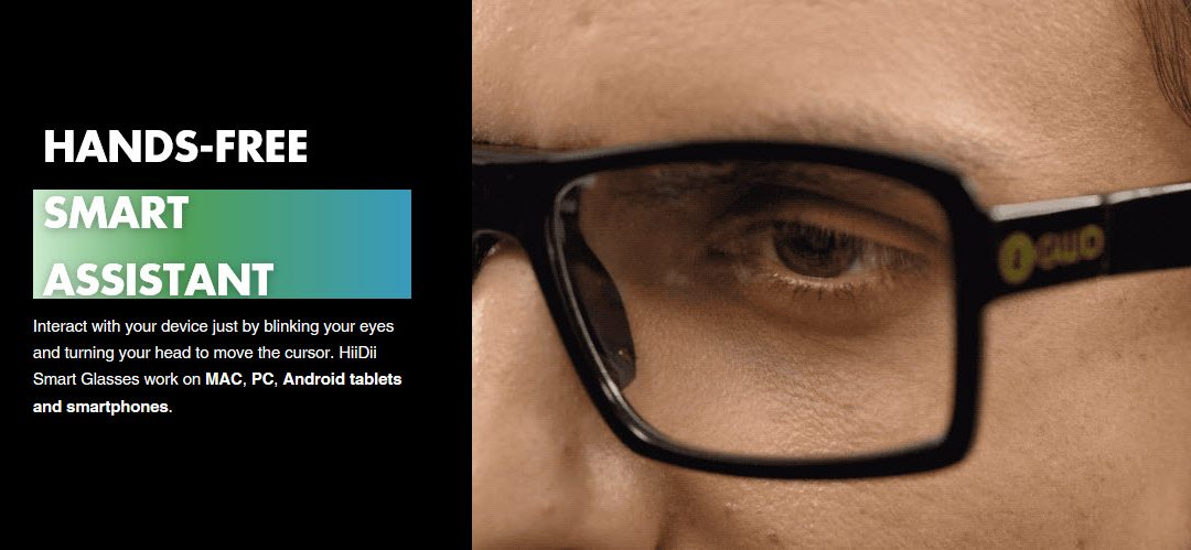 HiiDii Smart Glasses. Hands-Free Smart Assistant.
